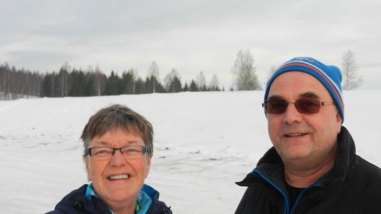Berit Wadman och Jan Björn SK  Bore