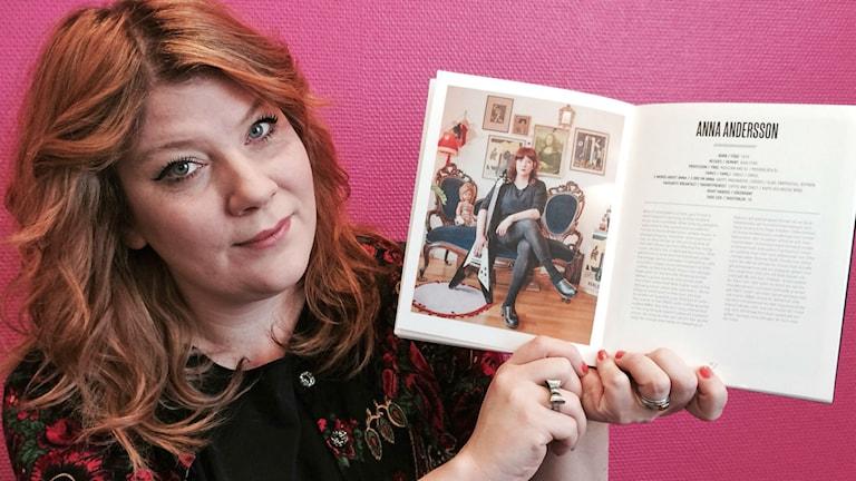 Anna Andersson från Karlstad. Foto: Malin Björk/Sveriges radio.