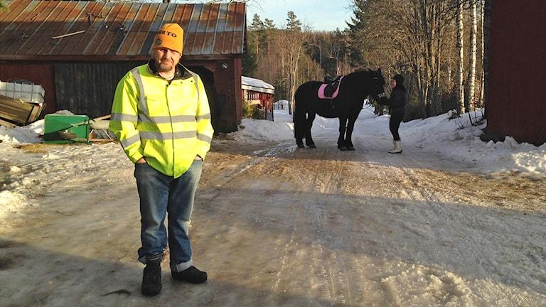Mattias Lindberg. Foto: Johanna Skoglund/Sveriges Radio.