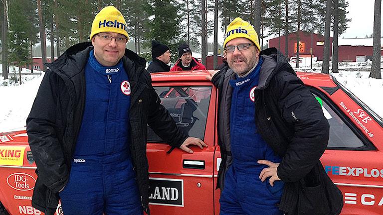 Arne Rådström och Tomas Nilsson. Foto: Johanna Skoglund/Sveriges Radio.
