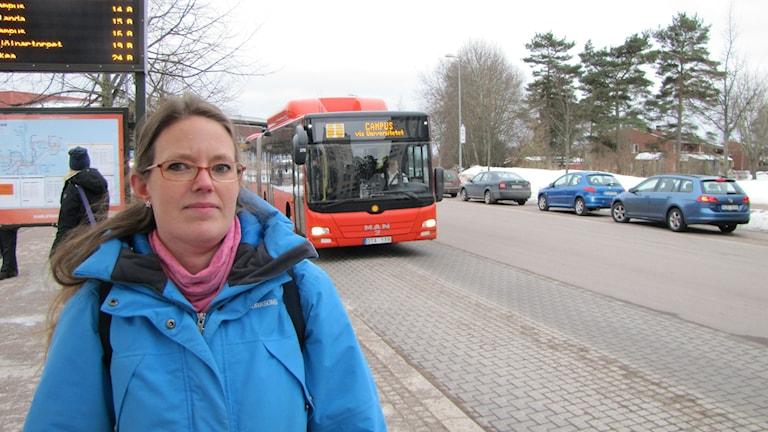 Lena Grip (V). Foto: Magnus Hermansson/Sveriges Radio.