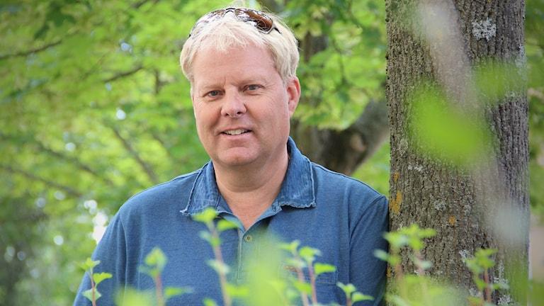 Jan Flash Nilsson. Foto: Lars-Gunnar Olsson/Sveriges Radio.