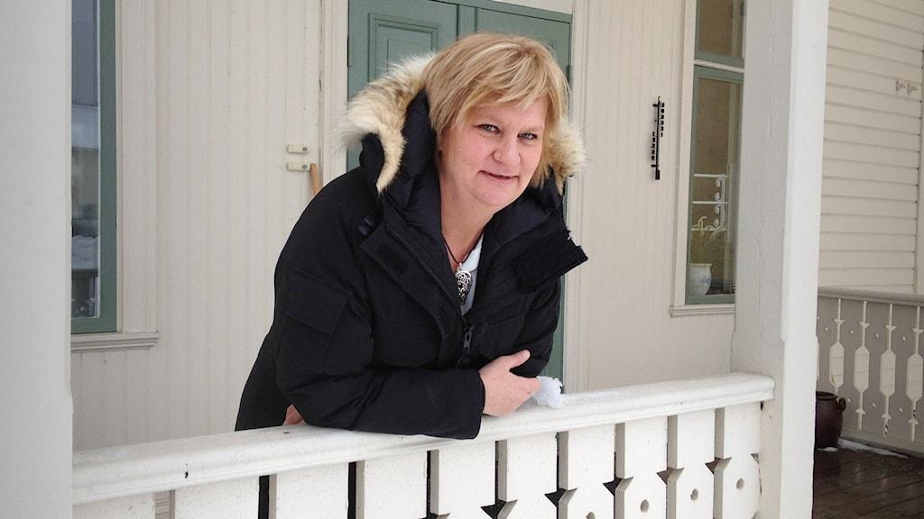 Maria Adolfsson. Foto: Ulla Walldén/Sveriges Radio.