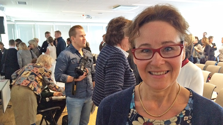 Birgitta Sigvant. Foto: Jenny Tibblin/Sveriges Radio.