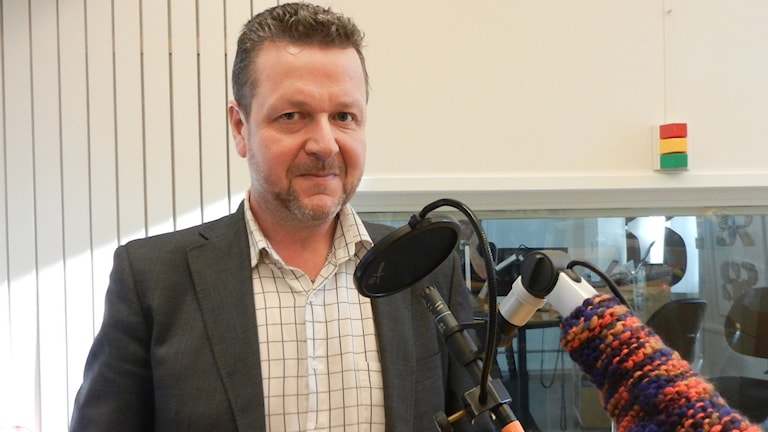Leif Haraldsson (S), kommunalråd i Grums.  Foto: Hedvig Nilsson/Sveriges Radio.