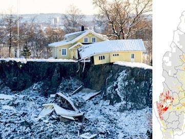 Skredrisken är stor i Värmland