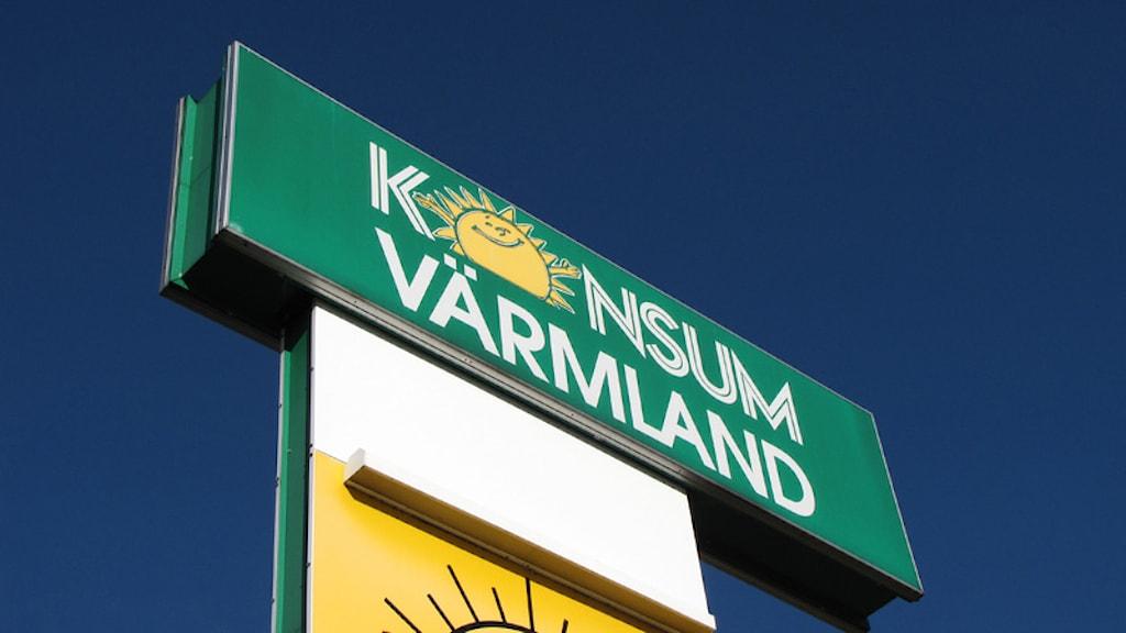 Konsum Värmland.  Foto: Lars-Gunnar Olsson/Sveriges Radio.