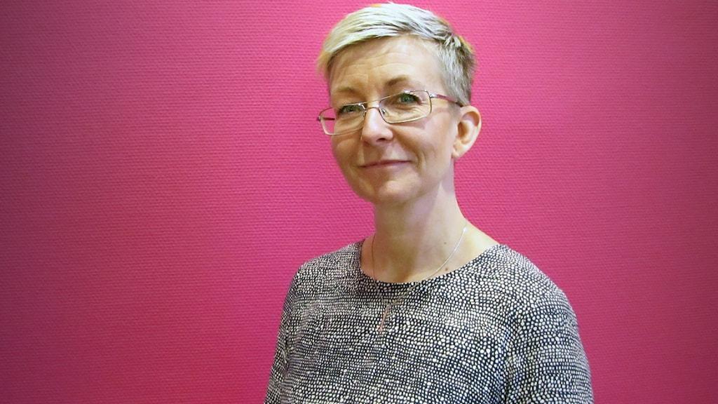 Marie Niljung. Foto: Mari Stenström/Sveriges Radio.