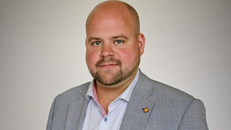 Peter Kullgren (KD), kommunalråd i Karlstad. Foto: Lars-Gunnar Olsson/Sveriges Radio.