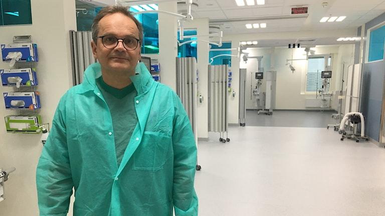 Lars Mattsson är verksamhetschef och överläkare på operations- och intensivvården i Karlstad och Arvika.