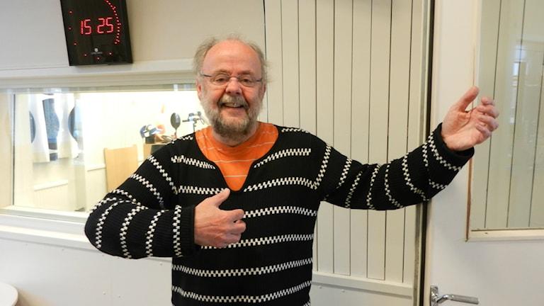 Bengt Starrin, professor vid Karlstad universitet. Foto: Hedvig Nilsson