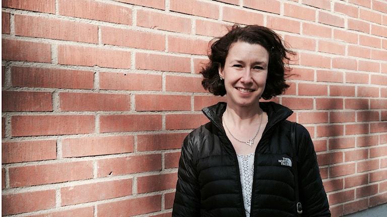 Elisabet Mellroth brinner för särskilt begåvade barn och om detta ska hon föreläsa på en internationell lärarkonferens