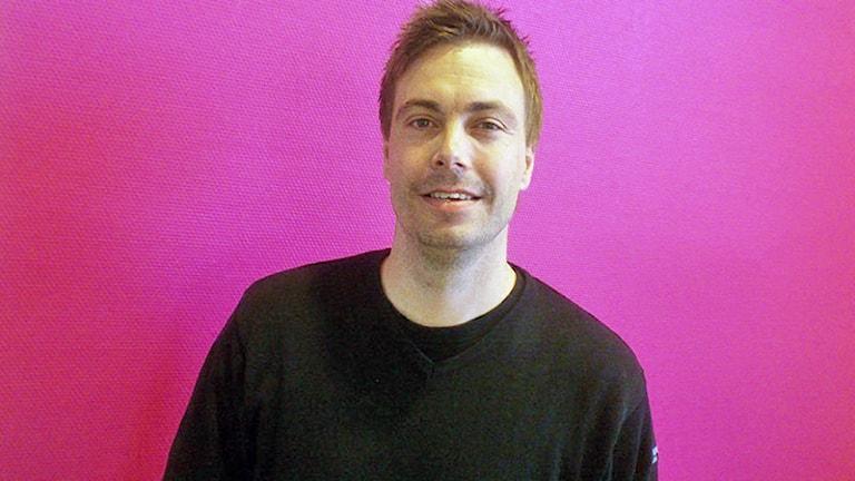 Henrik Flognman. Foto: Bengt Höglind/Sveriges Radio.