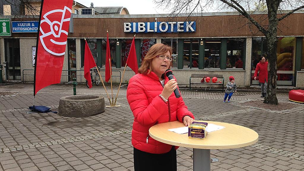 Gunilla Svantorp, socialdemokraterna. Foto: Robert Ojala/SverigesRadio