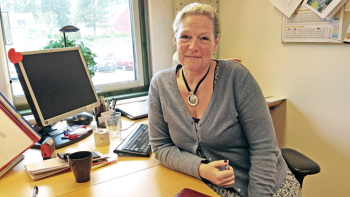 Suzanne Lamborn. Foto: Jenny Norberg/Sveriges Radio.