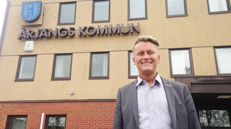 Daniel Schützer (S). Foto: Robert Ojala/Sveriges Radio.