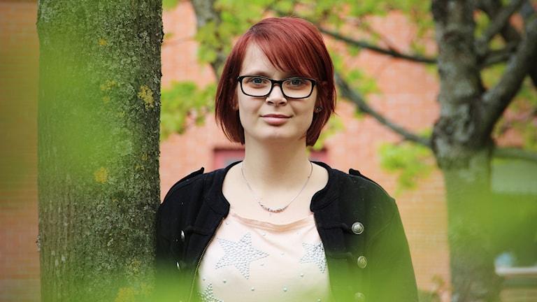 Joanna Halvardsson. Foto: Lars-Gunnar Olsson/Sveriges Radio.
