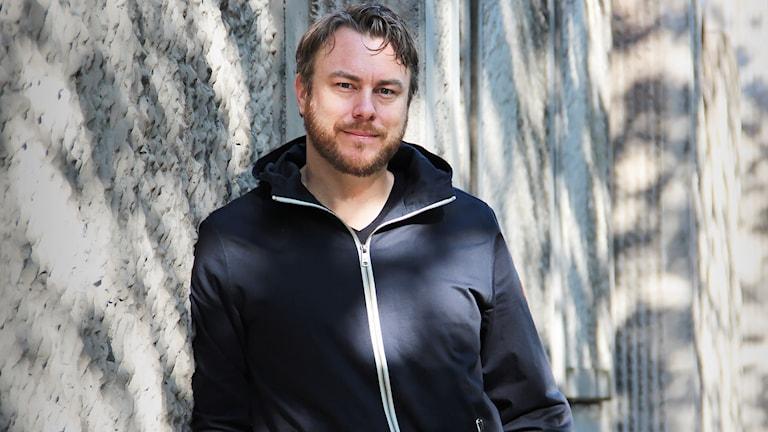 Jonas Karlsson. Foto: Lars-Gunnar Olsson/Sveriges Radio.