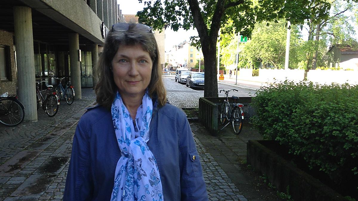 Elisabeth Felling. Sköldkörtelföreningen. Foto: Robert Ojala/Sveriges Radio