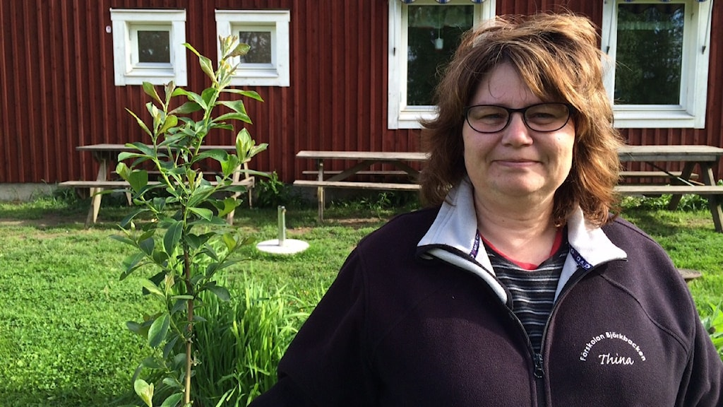 Thina Jansson Foto: Jenny Tibblin/Sveriges Radio