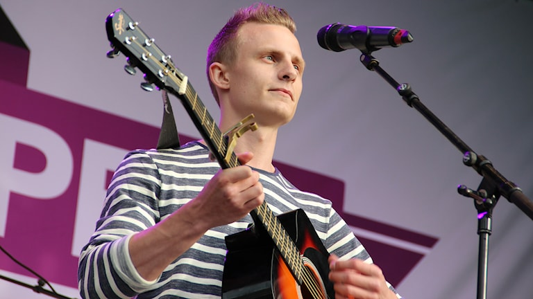 James (Joakim) Carlstedt. Foto: Lars-Gunnar Olsson/Sveriges Radio.
