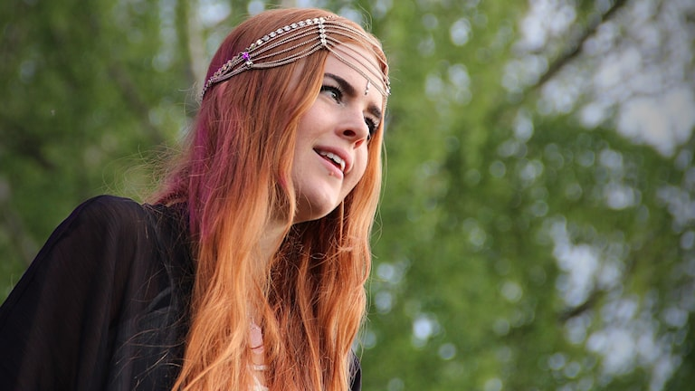 Dotter, Johanna Jansson. Foto: Lars-Gunnar Olsson/Sveriges Radio.