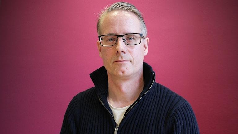 Owe Jordan, HR-konsult på MSB. Foto: Lars-Gunnar Olsson/Sveriges Radio.