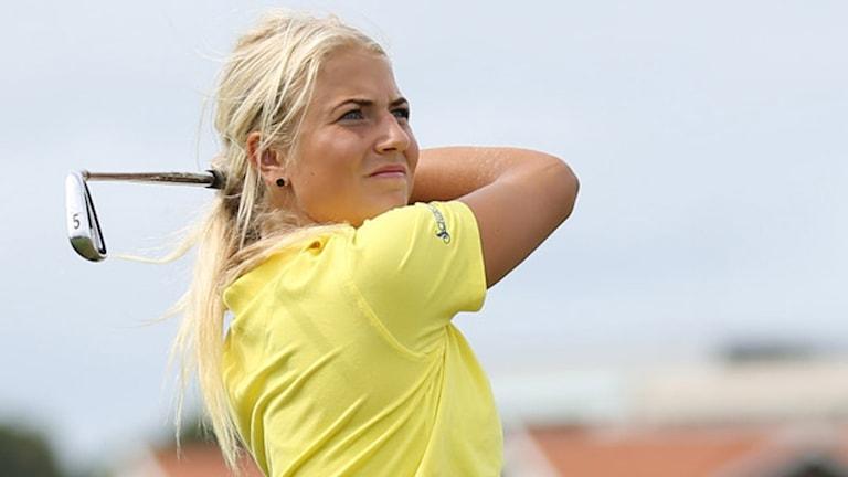 Filippa Möörk. Foto: Svenska Golfförbundet.
