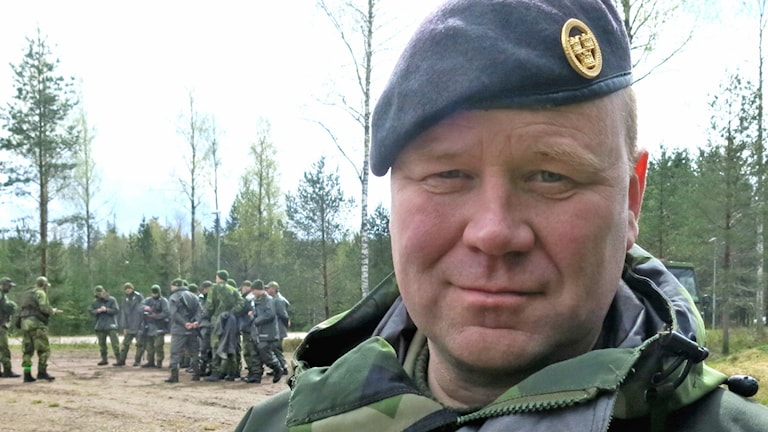 Bengt Fransson, överstelöjtnant. Foto: Lars-Eric Sundin/Försvarsmakten.