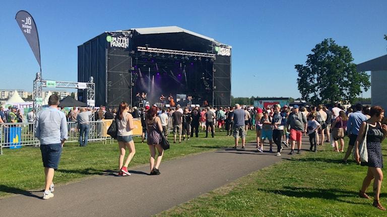 Putte i Parken har tidigare enbart arrangerats i Karlstad. Foto: Jonas Hansson/Sveriges Radio