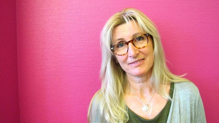 Pia Sundgren. Foto: Jonas Hansson/Sveriges Radio