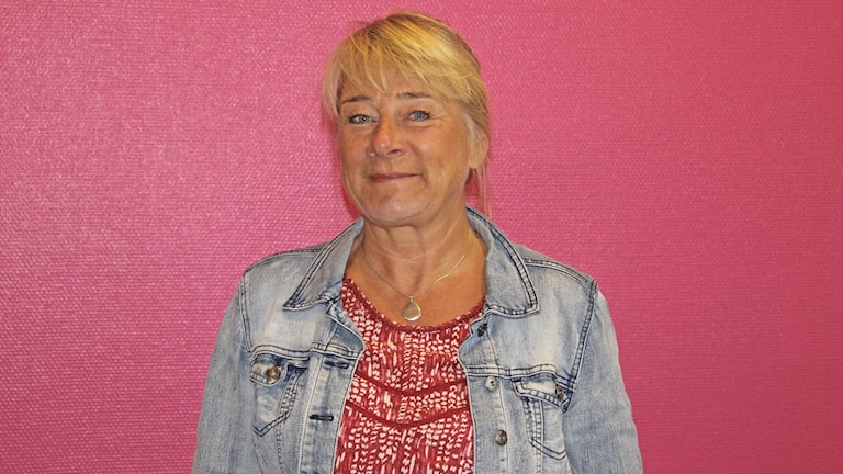 Christina Olin-Scheller, professor på KAU. Foto: Jenni Jansson/Sveriges Radio.