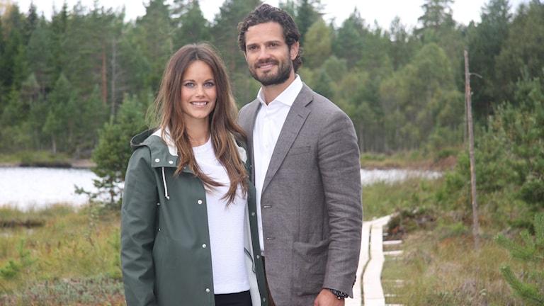 Prins Carl Philip och prinsessan Sofia. Foto: Örjan Bengtzing/Sveriges Radio.