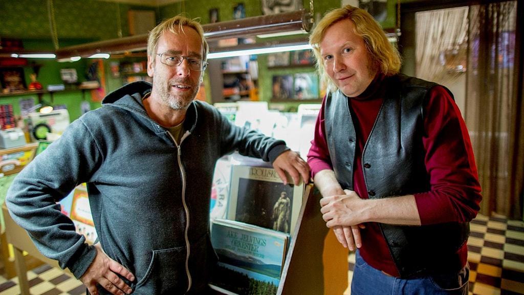 Ulf Malmros och Henrik Dorsin. Foto: Adam Ihse/TT