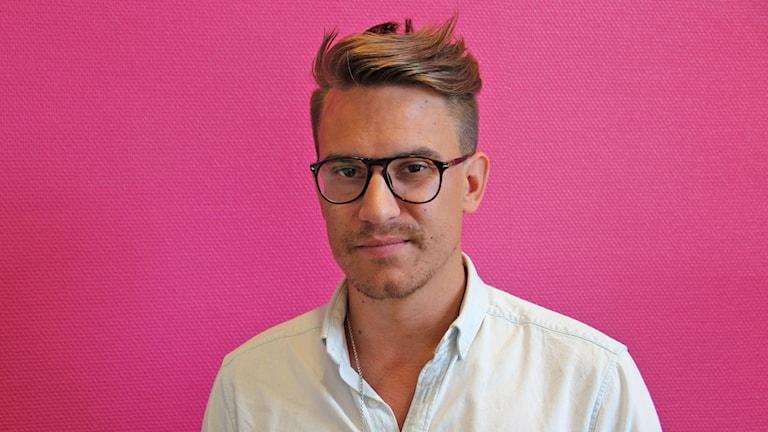 Erik Andersson, präst och ordförande för EKHO. Foto: Jonas Hansson/Sveriges Radio