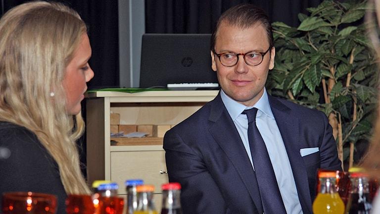 Prins Daniel. Foto: Örjan Bengtzing/Sveriges Radio