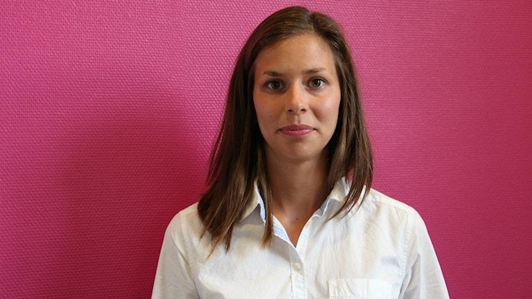 Veronica Persson, lärare på Vikstaskolan i Kil. Foto: Jonas Hansson/Sverigesradio