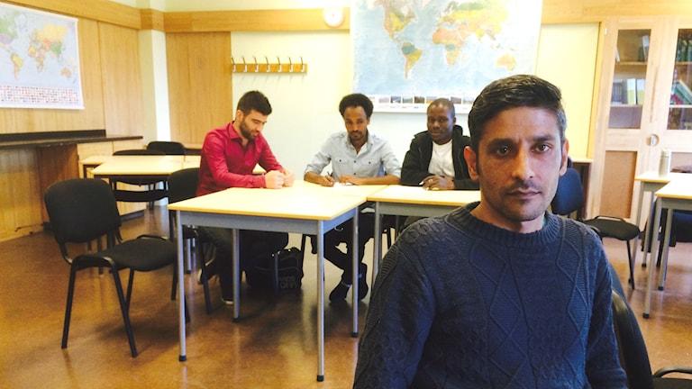 Abdullah Hamidi. Foto: Magnus Hermansson/Sveriges Radio.