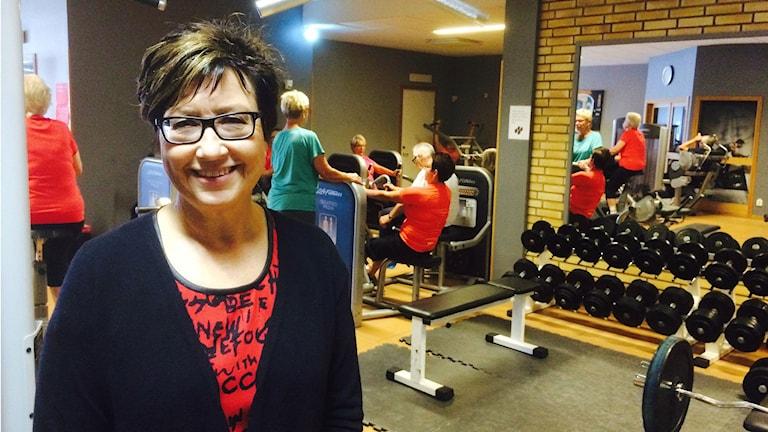 Maritha Lundström, personalchef i Munkfors kommun. Foto: Magnus Hermansson/Sveriges Radio.