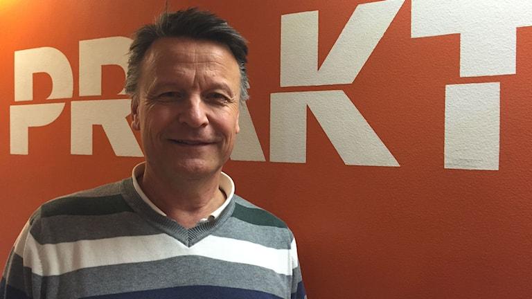 Johan Ekström, rektor för Praktiska gymnasiet i Karlstad.