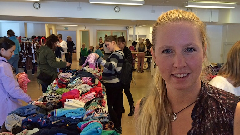 Malin Enarsson. Foto: Jenny Tibblin/Sveriges Radio.