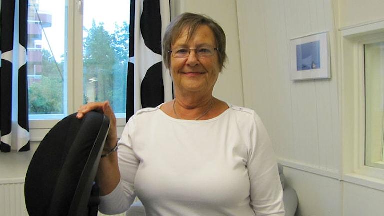 Ulla Simonsson, undersköterska.