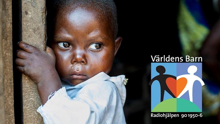 Barn i Kongo. Foto: Anette Brolenius