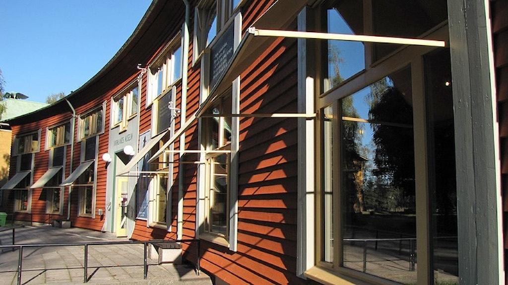 Värmlands museum. Foto: Lars-Gunnar Olsson/Sveriges Radio