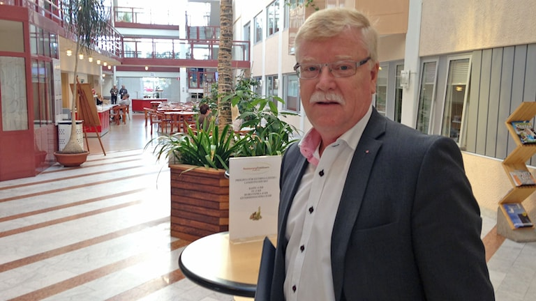 Ulric Andersson (S), oppositionsråd på Landstinget i Värmland. Foto: Robert Ojala/Sveriges Radio