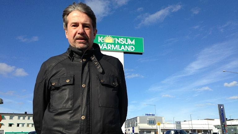 Klas Olsson, kommunikationschef Konsum Värmland. Foto: Robert Ojala/Sveriges Radio.