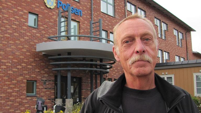 Bjarne Andersson, vakthavande befäl i Värmland. Foto: Magnus Hermansson/Sveriges Radio.
