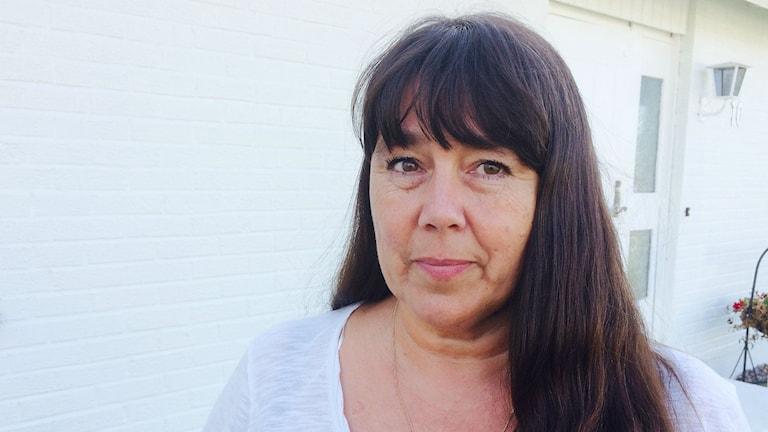 Annette Naesström, ordförande för Polisförbundet i Värmland. Foto: Magnus Hermansson/Sveriges Radio.