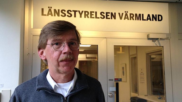 Leif Gustavsson beredskapsdirektör länsstyrelsen Värmland 2015 Foto: Robert Ojala/sveriges Radio