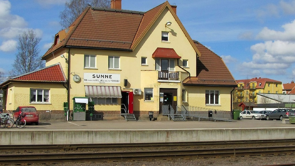 Sunne järnvägsstation